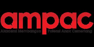 Logo AMPAC - Nama Penuh 2 Warna
