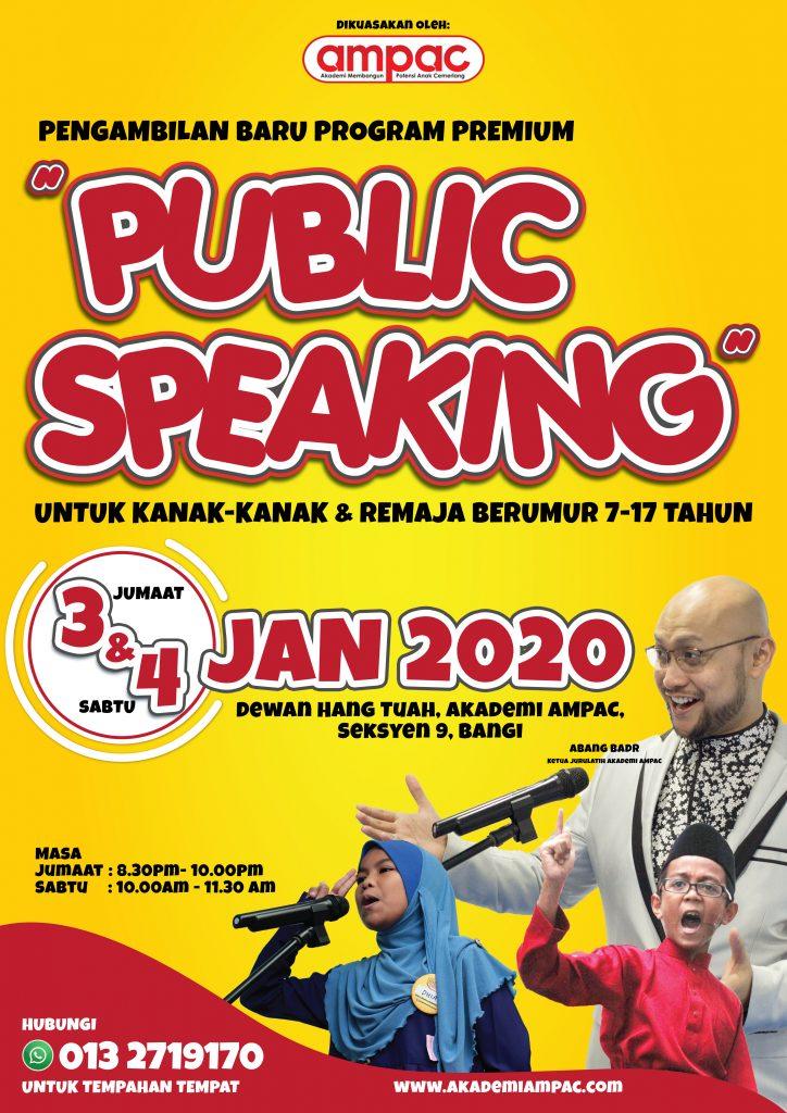 Poster Intake 2020 - A3