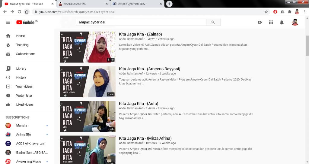 youtube acd 3