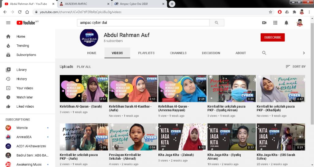 youtube acd 4